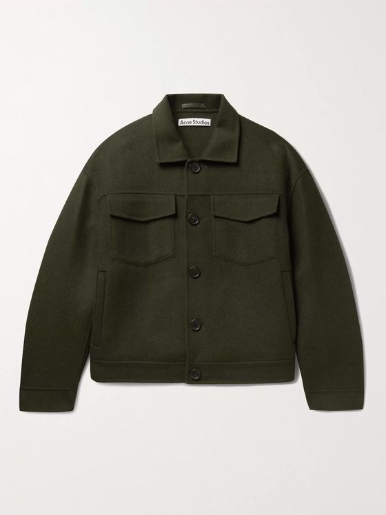 Acne Studios Double-Faced Wool-Twill Jacket