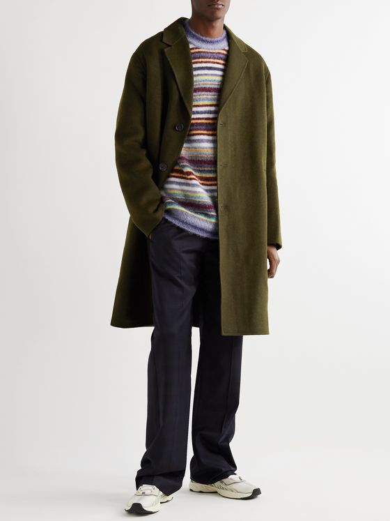 Acne Studios Dali Double-Faced Wool-Twill Coat
