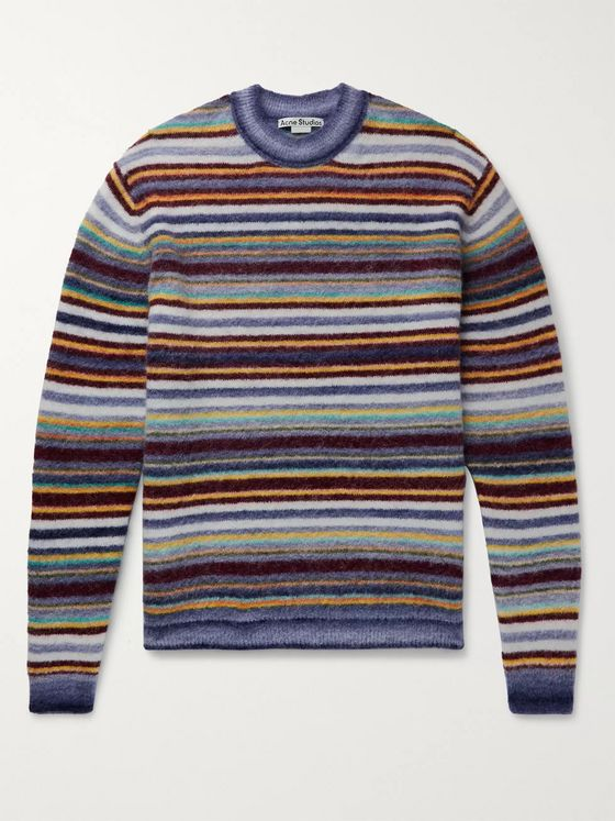 ACNE STUDIOS Nosti Striped Knitted Sweater