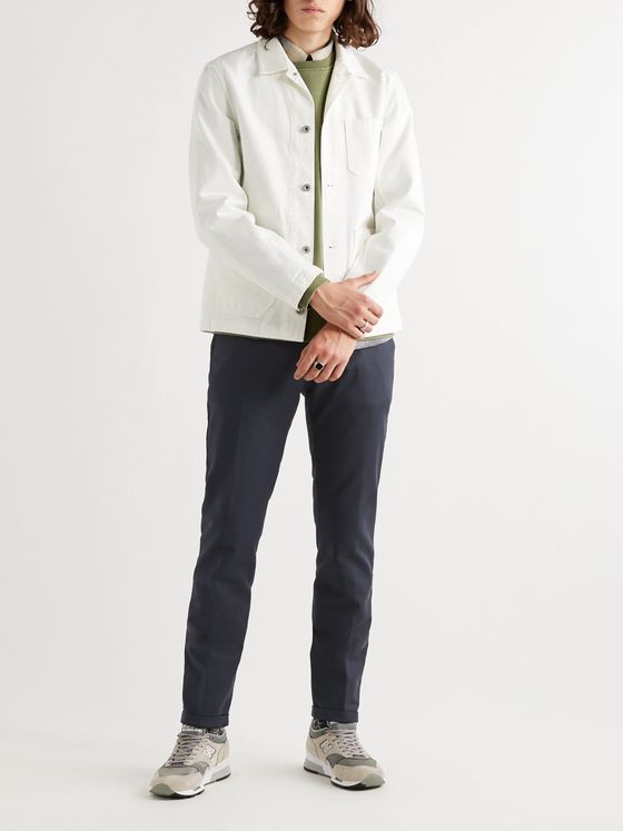NN07 Scott Slim-Fit Tapered Stretch-Cotton Twill Chinos