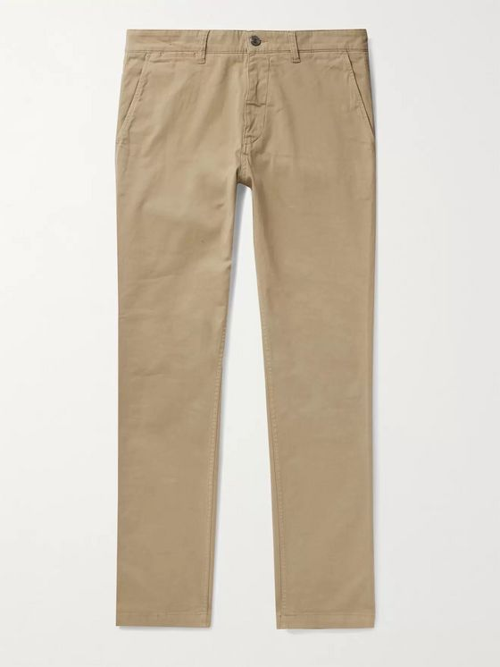 NN07 Marco Slim-Fit Tapered Stretch-Cotton Twill Chinos