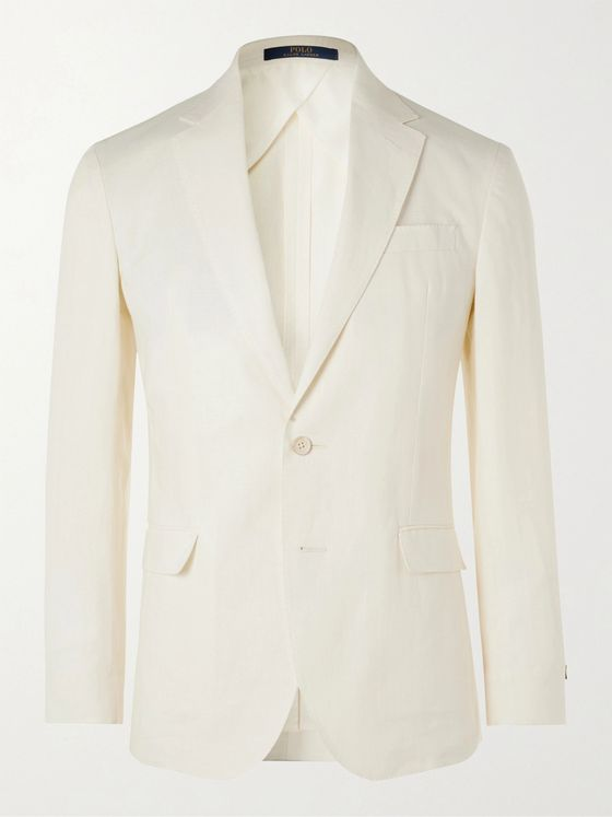 POLO RALPH LAUREN Unstructured Linen Suit Jacket
