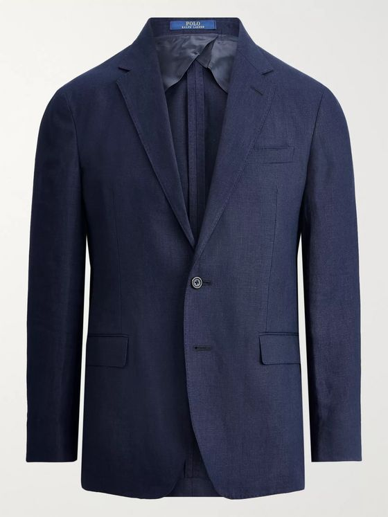 Polo Ralph Lauren Slim-Fit Unstructured Linen Blazer