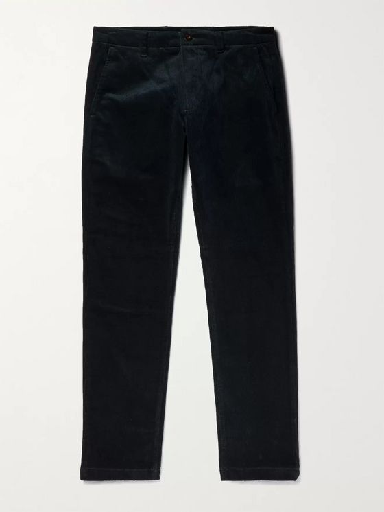 NN07 Karl Tapered Stretch-Cotton Corduroy Trousers