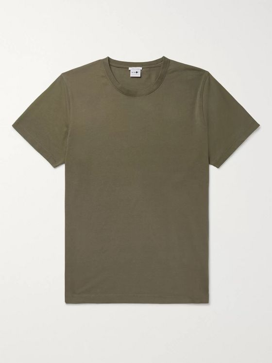 NN07 Pima Cotton-Jersey T-Shirt