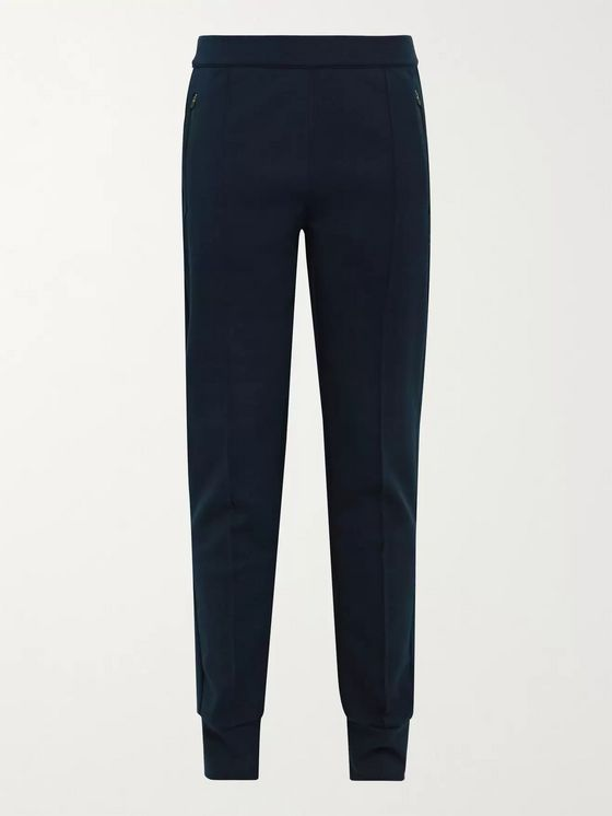 FALKE Ergonomic Sport System Slim-Fit Tapered Tech-Jersey Track Pants