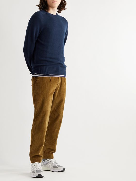 NN07 Gordon Wool and Cashmere-Blend Sweater