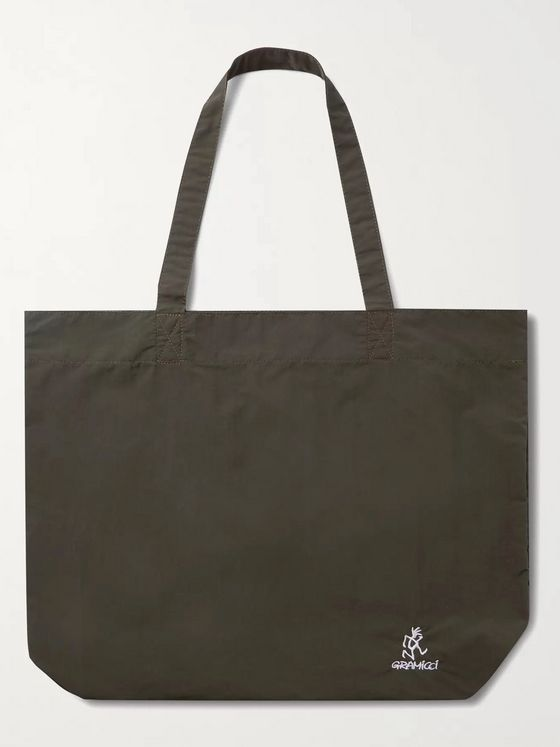 GRAMICCI Logo-Embroidered Printed Nylon Tote Bag