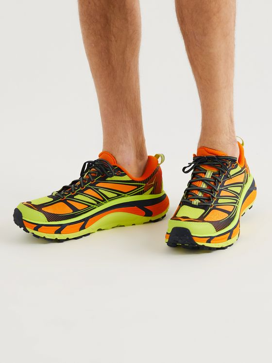 HOKA ONE ONE Mafate Speed 2 Mesh and Rubber Running Sneakers