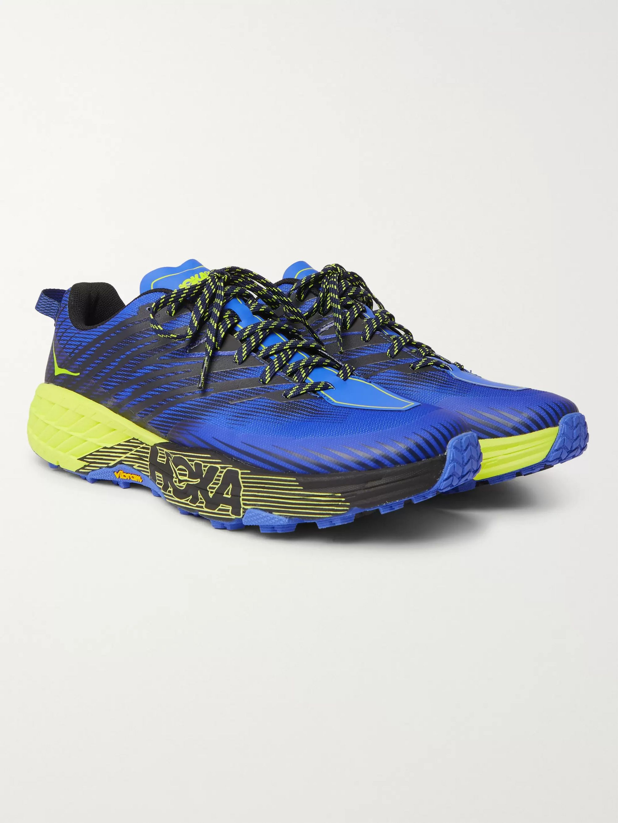 Hoka One One Speedgoat 4 Mesh Trail Running Sneakers