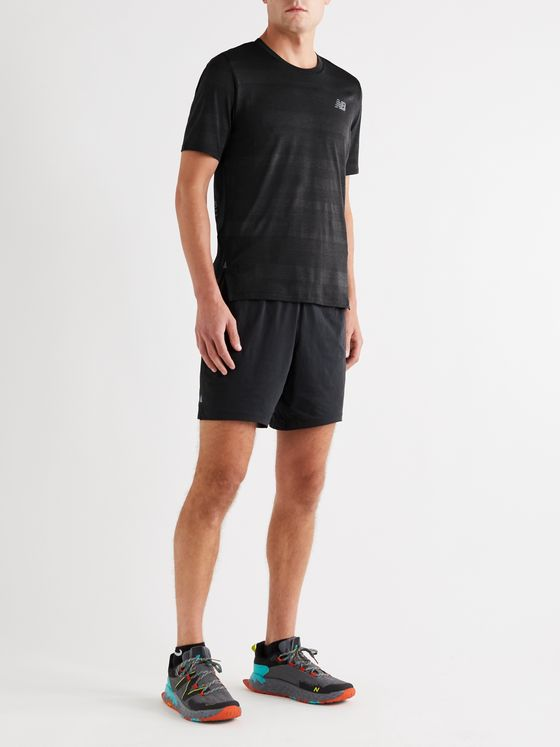 New Balance Q Speed Fuel Jacquard-Knit T-Shirt