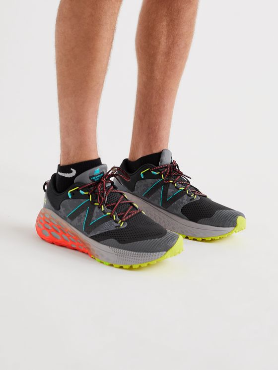New Balance Fresh Foam More Trail v1 Mesh and Rubber Trail Running Sneakers