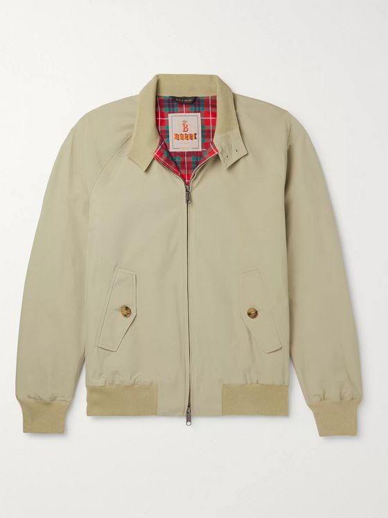 Baracuta G9 Cotton-Blend Harrington Jacket