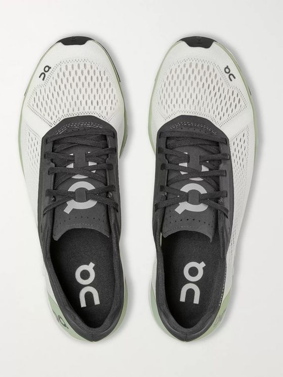 ON + Bang & Olufsen Cloudboom Rubber-Trimmed Mesh Running Sneakers