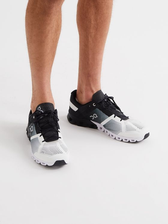 On Cloudflow Mesh Running Sneakers