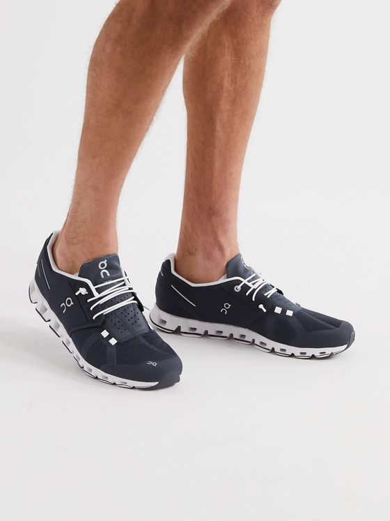 On Cloud Mesh Slip-On Running Sneakers