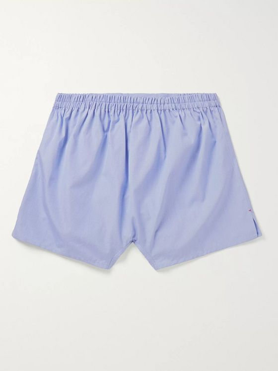 Isaia Cotton Boxer Shorts