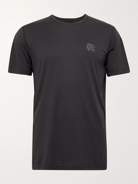 Reigning Champ Logo-Print Deltapeak 90 Stretch-Jersey T-Shirt