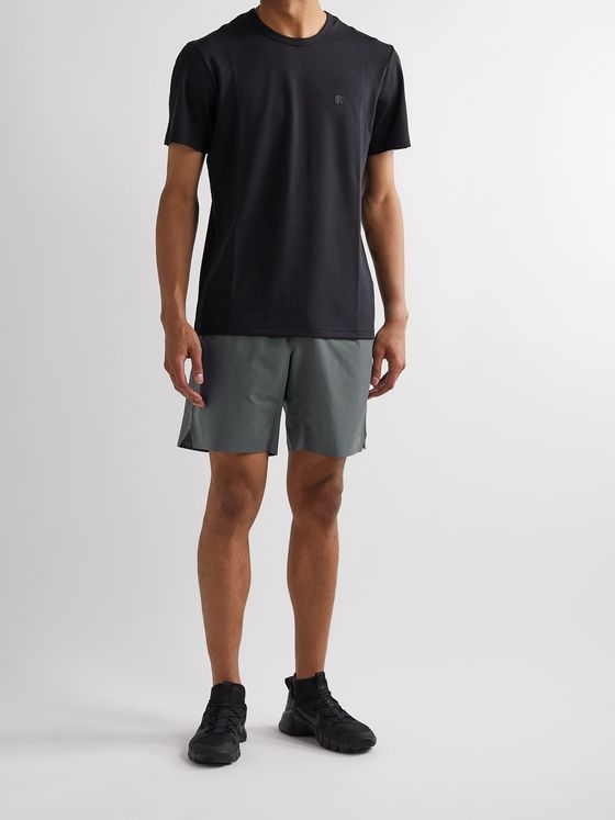 Reigning Champ Hybrid Stretch-Jersey Shorts
