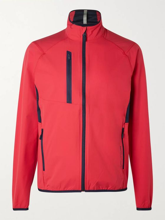 RLX Ralph Lauren Mesh-Panelled Shell Windbreaker