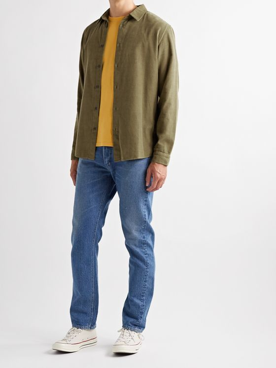 Folk Cotton-Corduroy Shirt