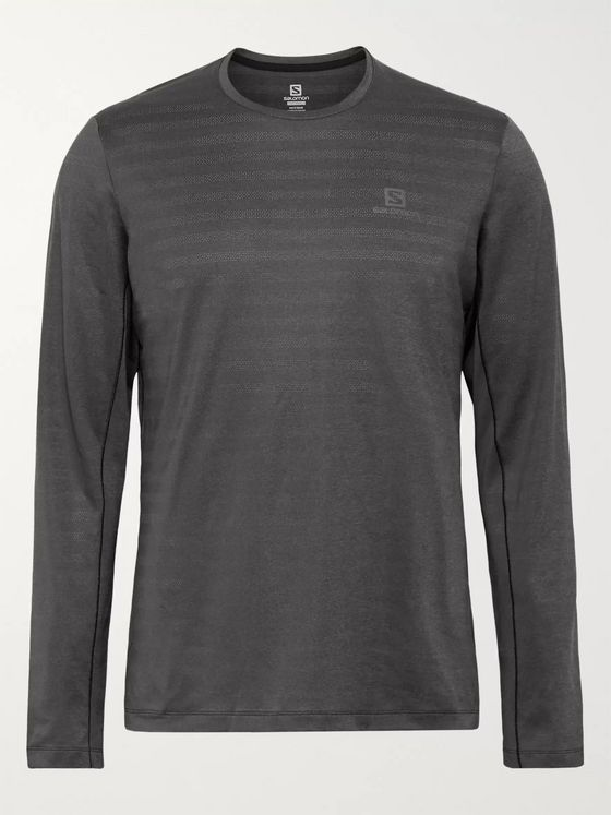 SALOMON XA Perforated Stretch-Jersey T-Shirt