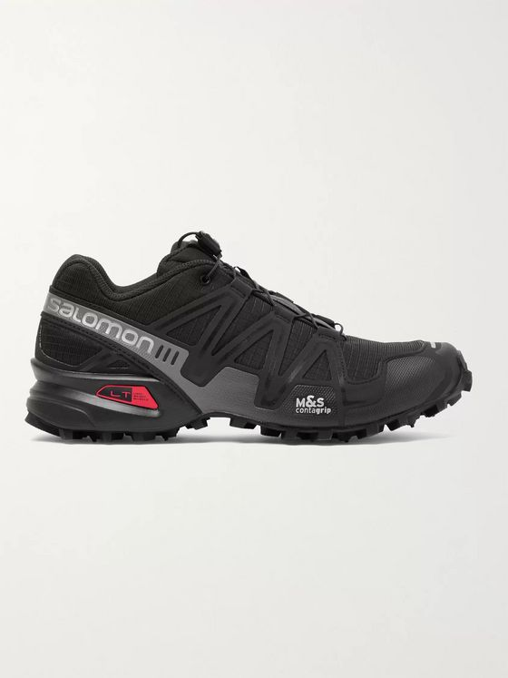 Salomon Speedcross 3 ADV Ripstop, Mesh and Rubber Running Sneakers