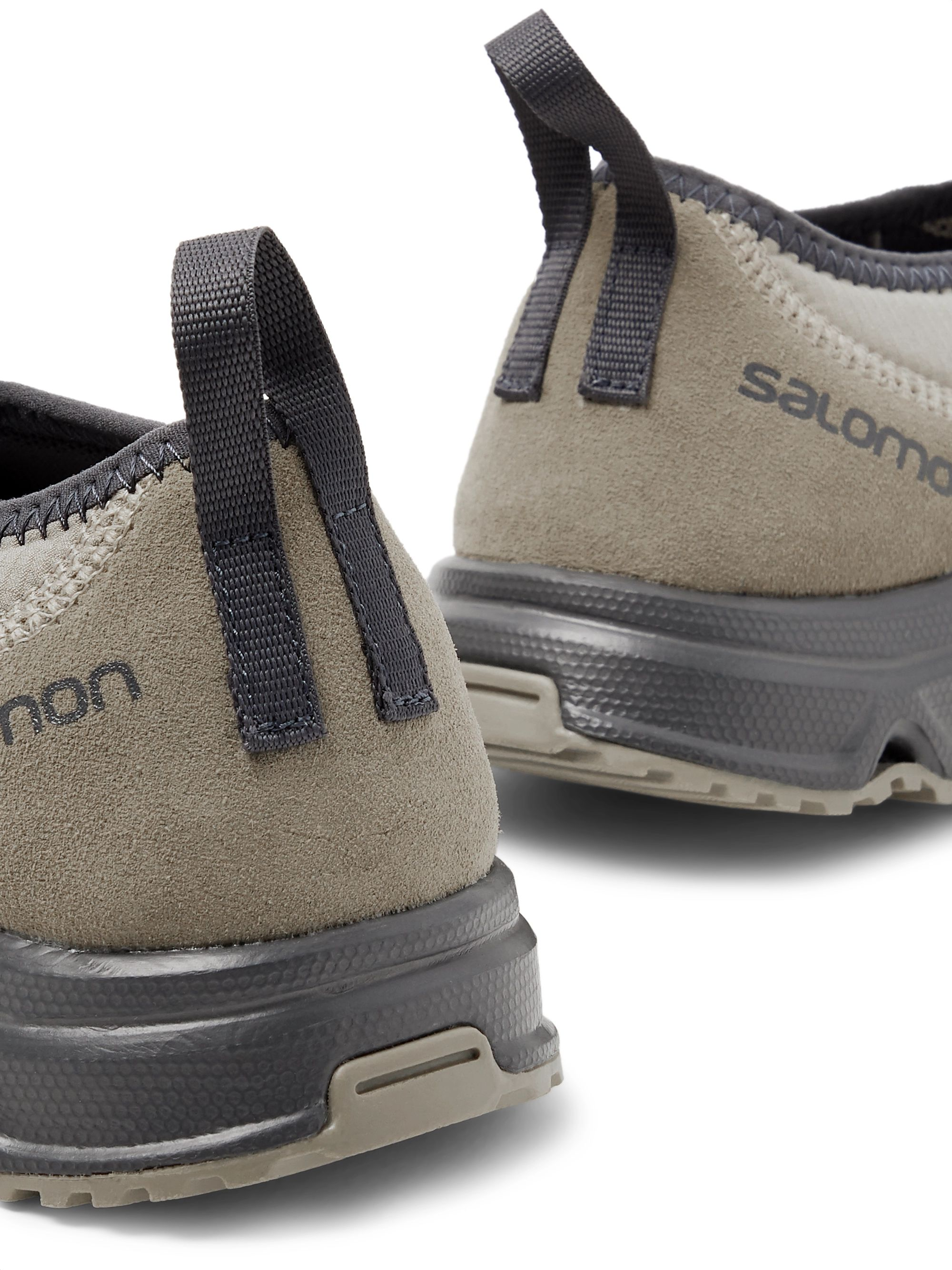 SALOMON RX Snow Moc Advanced Ripstop, Suede and Rubber Sneakers