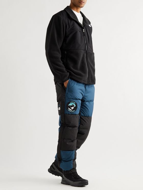 The North Face Lhotse Expedition Tapered Logo-Appliquéd Quilted Shell Down Trousers