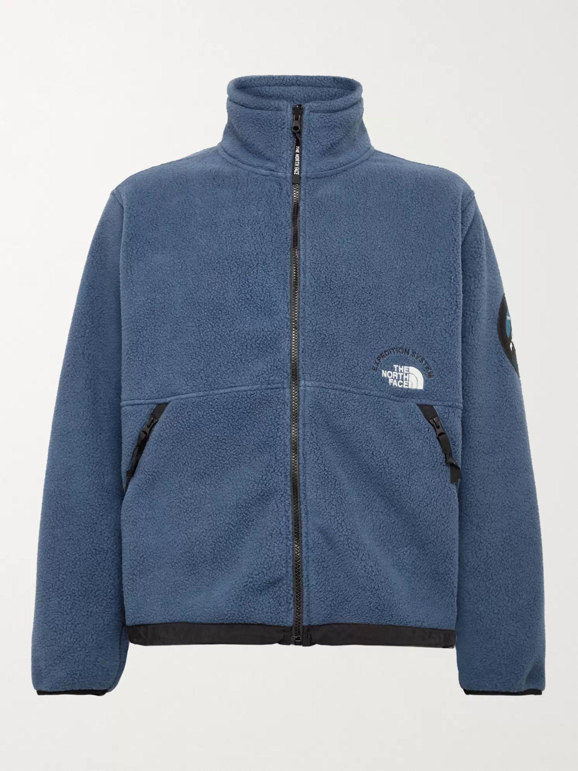 The North Face NSE Pumori Expedition Logo-Embroidered Polartec Fleece Jacket