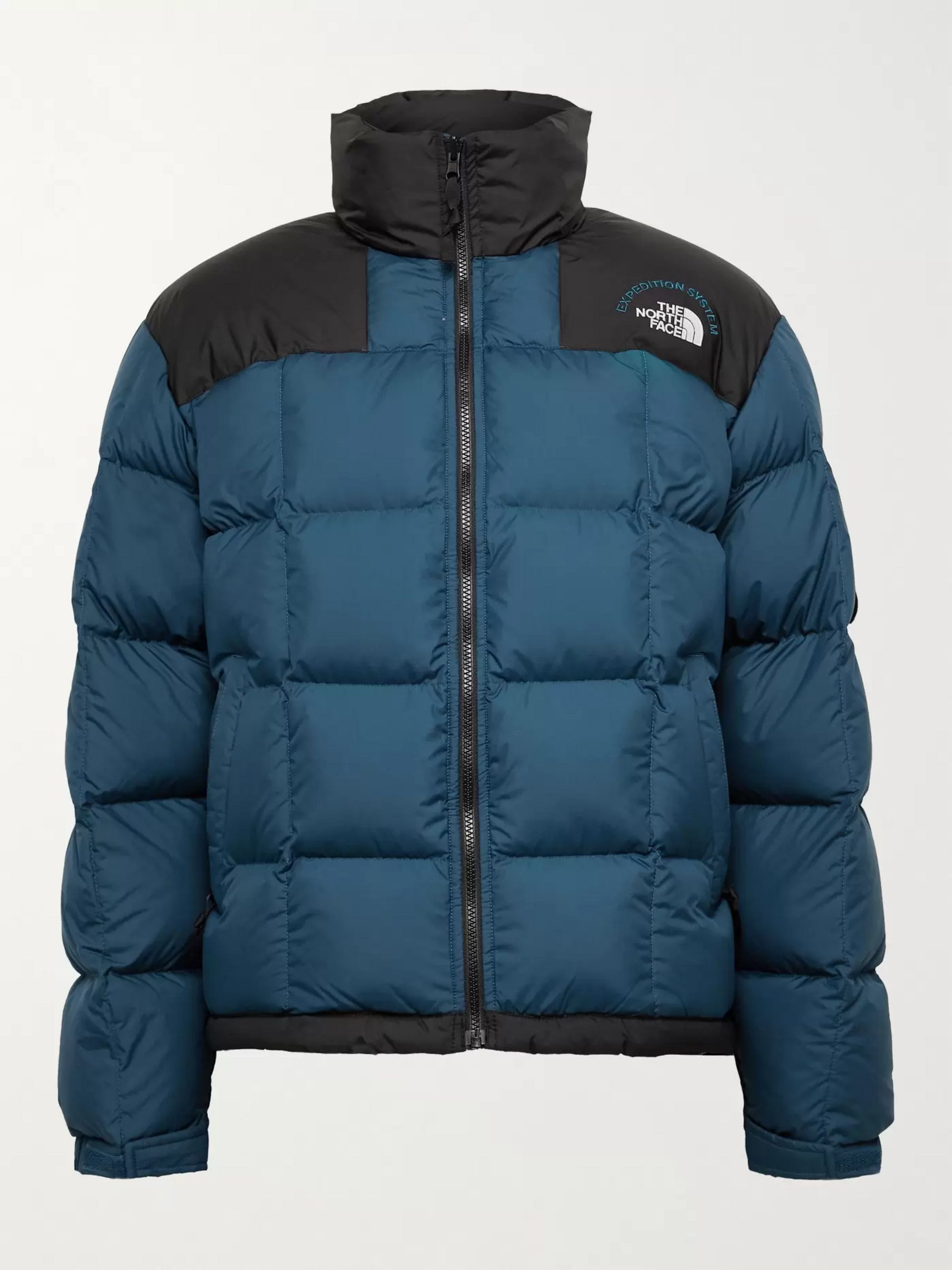 The North Face NSE Lhotse Expedition Panelled Quilted Ripstop and Shell Down Jacket