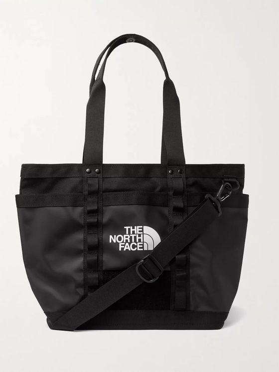 The North Face Shell and Canvas Tote Bag