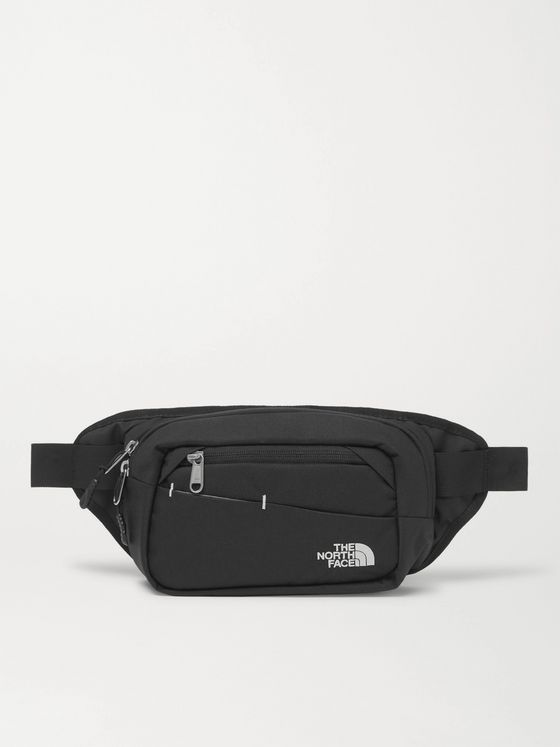 The North Face Bozer II Logo-Embroidered Canvas Belt Bag