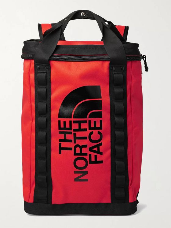 The North Face Fusebox Logo-Print Canvas Backpack