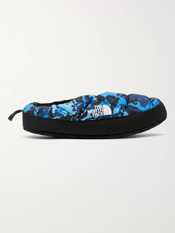 The North Face Tent Mule 3 Quilted Camouflage-Print Ripstop Slippers