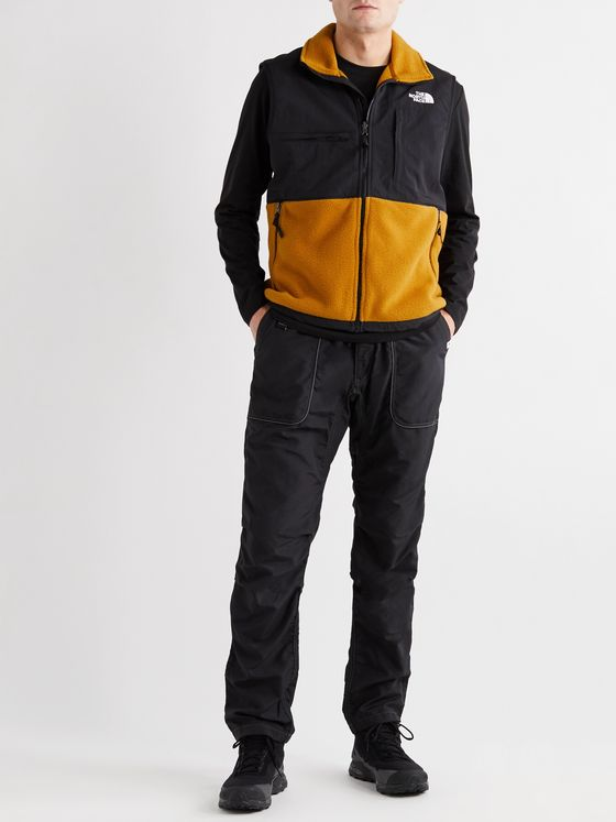 The North Face Denali 2 Logo-Embroidered Panelled Fleece and Shell Gilet