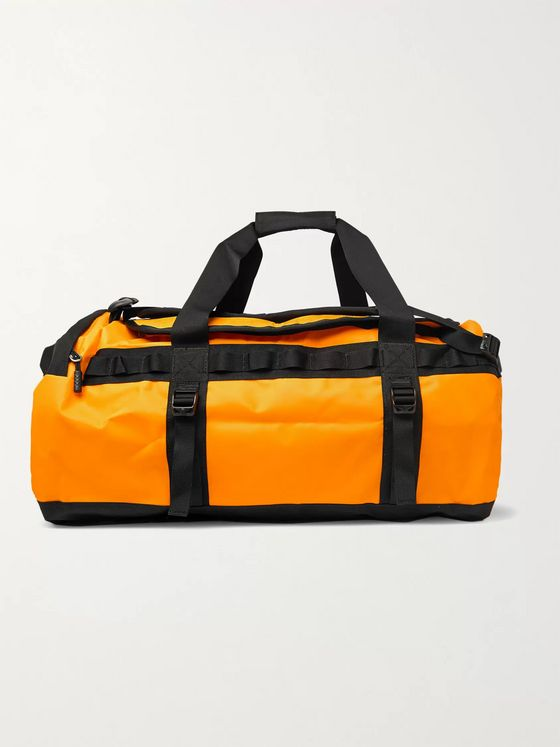 The North Face Logo-Print Coated-Shell Duffle Bag
