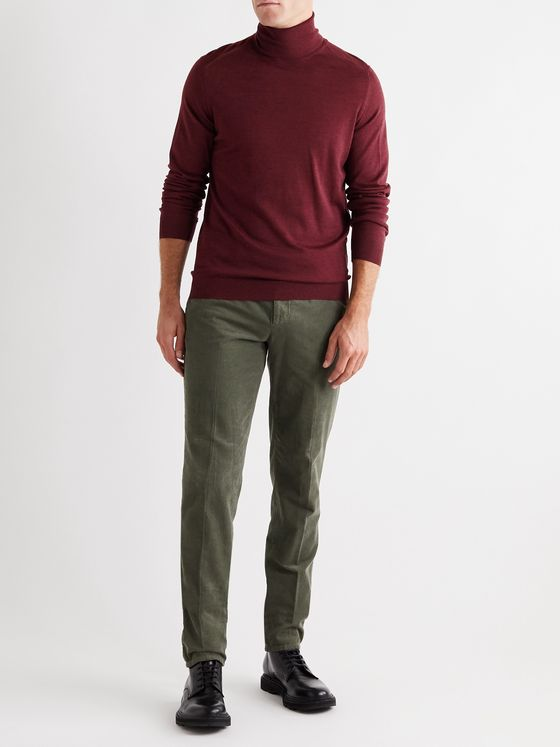 Caruso Wool Rollneck Sweater