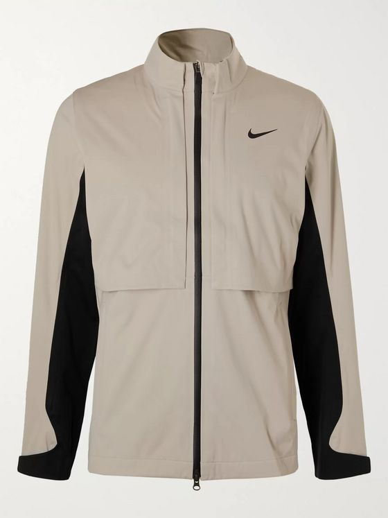 Nike Golf HyperShield Rapid Adapt Convertible Tech-Jersey Golf Jacket