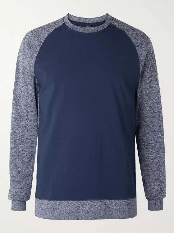 Nike Golf Dri-FIT Player Colour-Block Golf Sweatshirt