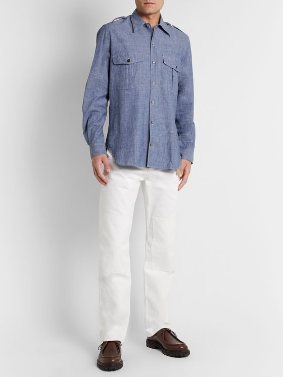 L.E.J Selvedge Cotton-Chambray Shirt