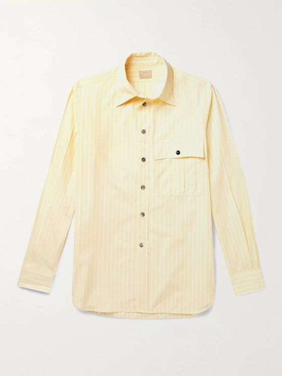L.E.J Washed-Silk Shirt