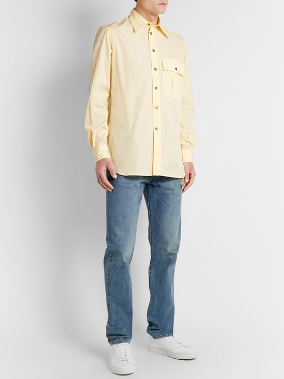 L.E.J Striped Cotton Shirt
