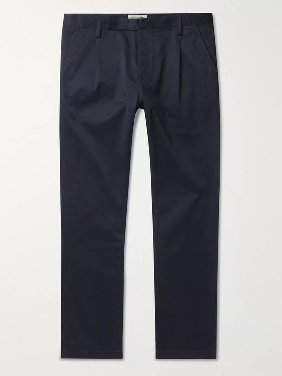 SAINT LAURENT Cotton-Blend Twill Chinos