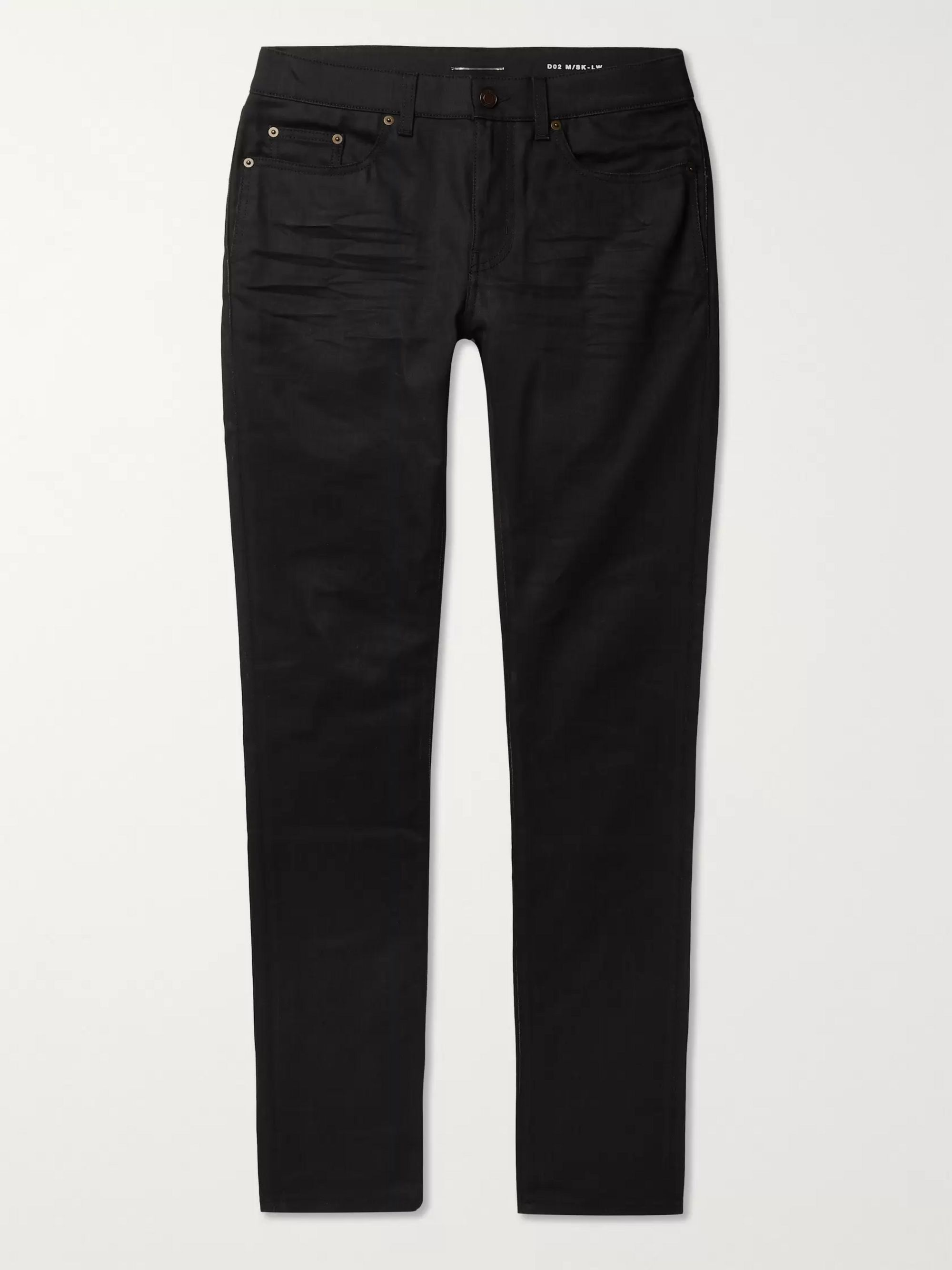 SAINT LAURENT Skinny-Fit Stretch-Denim Jeans