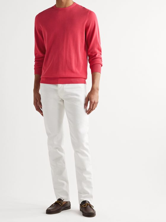 Sid Mashburn Slim-Fit Cotton Sweater