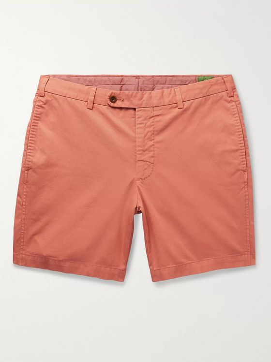 Sid Mashburn Cotton-Twill Shorts
