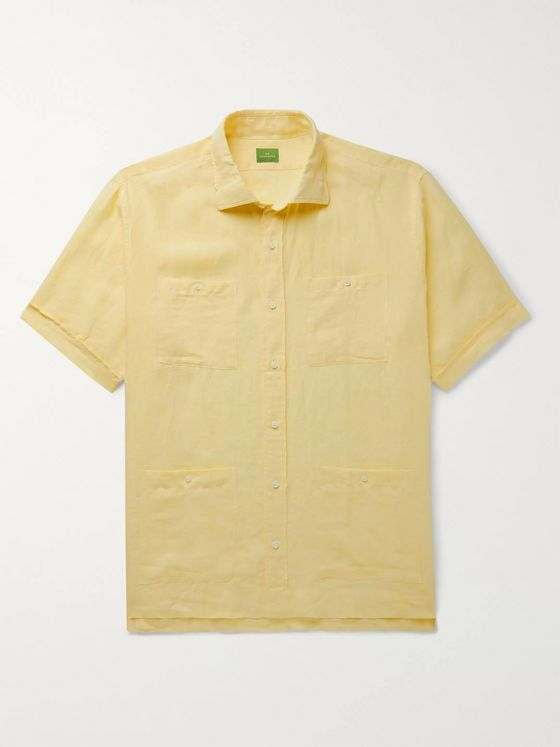 Sid Mashburn Marquez Cotton Shirt