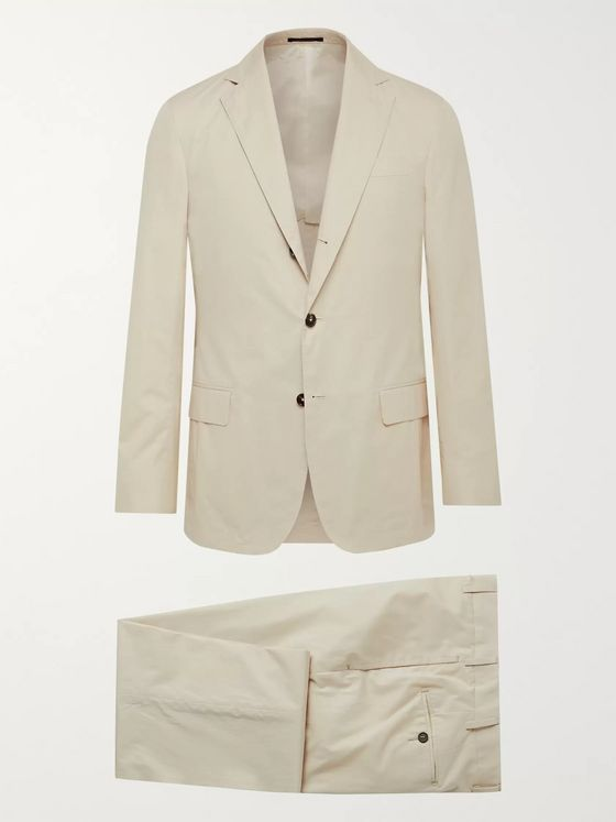 Sid Mashburn Cotton-Poplin Suit