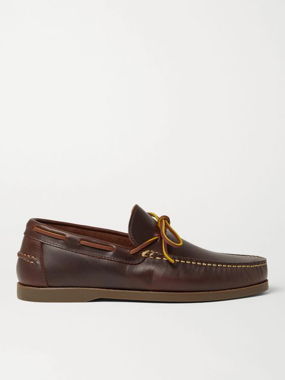 Sid Mashburn Camp Leather Loafers